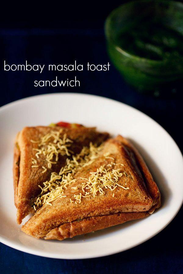 bombay masala toast sandwich recipe - mumbai toast sandwich