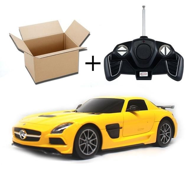 Licensed Rastar 1:18 Electric RC Cars Remote Control Car Toy Radio Controlled Car Toys For Children Boys Gifts 54100-1