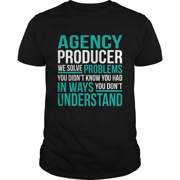 AGENCY-PRODUCER***How to ?  1. Select color  2. Click the ADD TO CART button  3. Select your Preferred Size Quantity and Color  4. CHECKOUT!   If You dont like this shirt you can use the SEARCH BOX and find the Custom Shirt with your Name!!job title