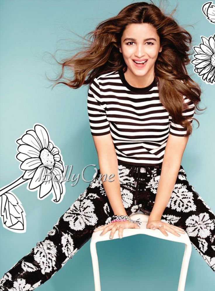 ALIA BHATT'S MAGNETIC PHOTOSHOOT FOR MISS VOGUE INDIA MAGAZINE 2015