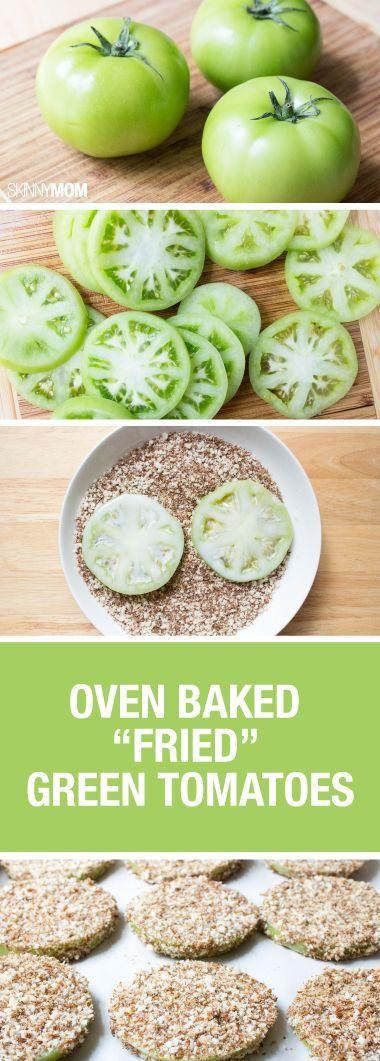 Lighten-ed Fried Green Tomatoes