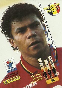 1998 Panini World Cup #94 Luis Oliveira Back