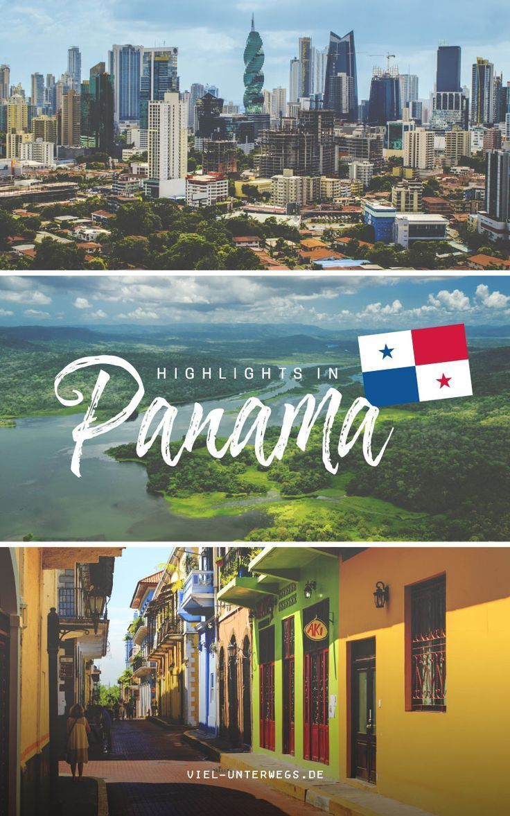 Panamas Sehenswurdigkeiten Strand Stadt Dschungel Panama Reise Zentralamerika Reisen Sudamerika Reise