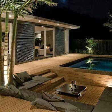 Love the sunken deck