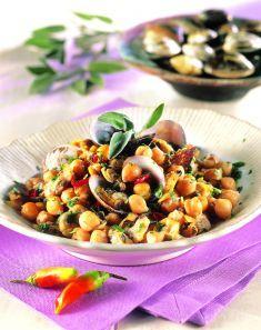 Intingolo di vongole e ceci - Tutte le ricette dalla A alla Z - Cucina Naturale - Ricette, Menu, Diete