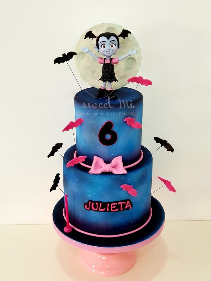 Vampirina Cake Sydnee Is Turning 3 Fiesta Cumplea 241 Os