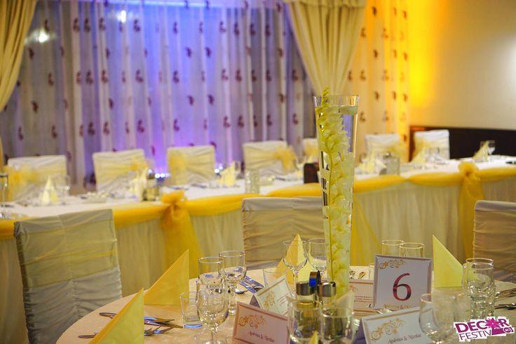 Decor mijloc de masă cu dendrobium in vază #dendrobium #centerpiece