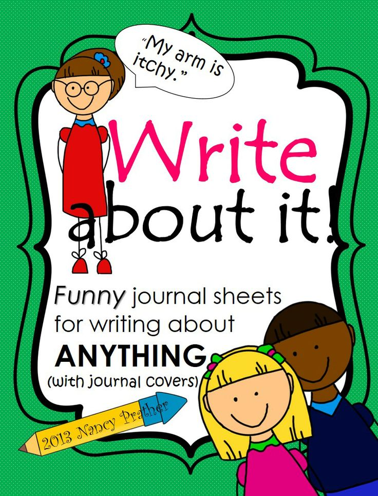 Daily writing prompts powerpoint, journal and