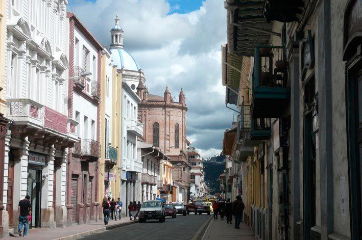 Lugares turisticos de Ecuador Cuenca