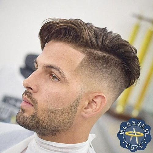 Comb Over Hairstyle Glamorous 146 Best Fade Hairstyles Images On Pinterest  Hard Part Haircut
