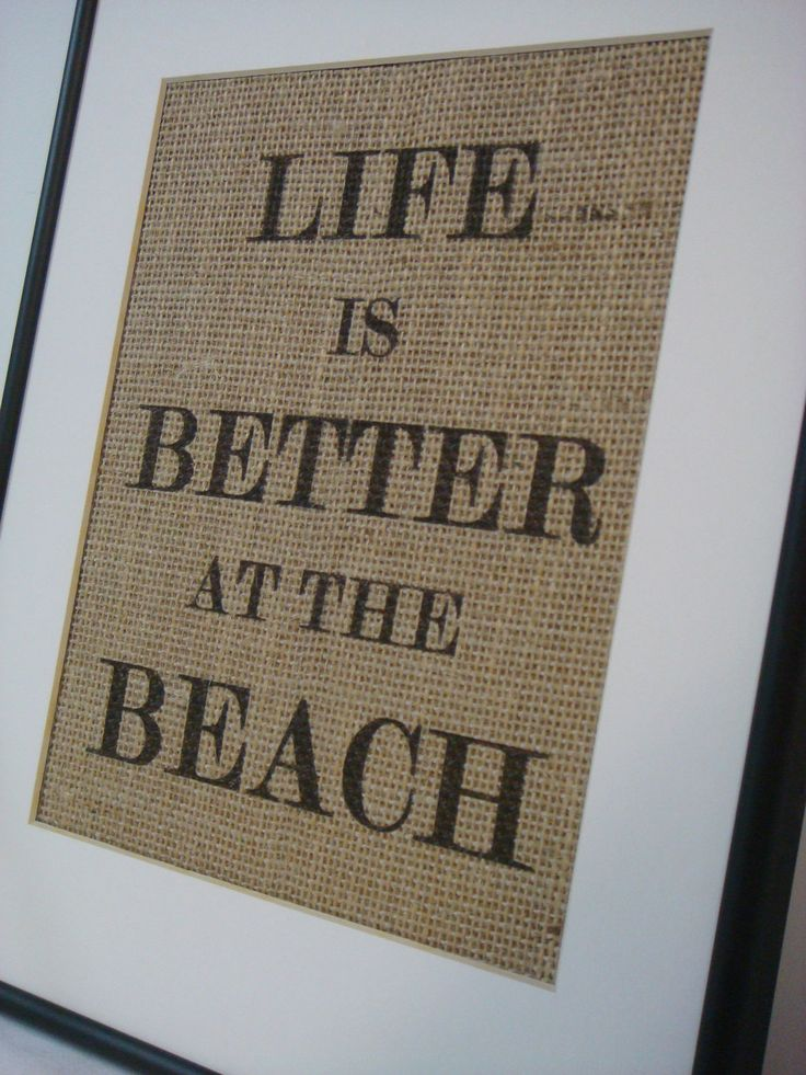 Everything's better at the beach!