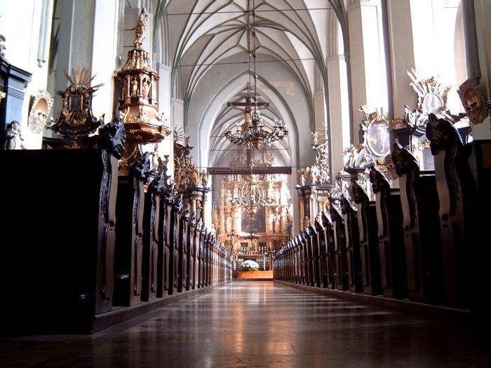 #Kościół dominikanów w Gdańsku od środka. #dominikanie #klasztor #gdańsk #gdn