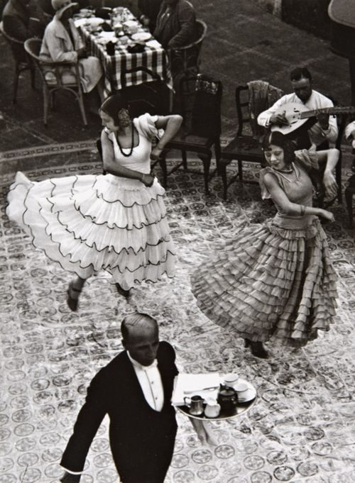 Pal Funk Angelo - Dancers, Seville, Spain 1930.For my flamenco loving sister..and you know who you are!!