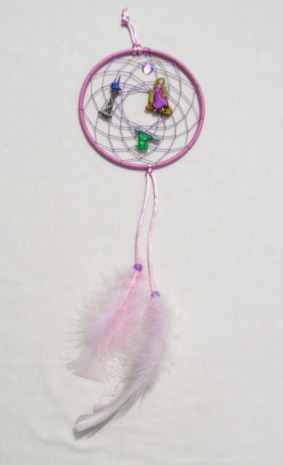 Disney Rapunzel inspired Dreamcatcher-medium by KnotYourDreams