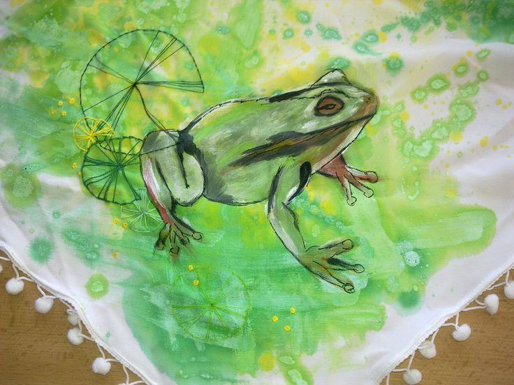 Šátek žába2