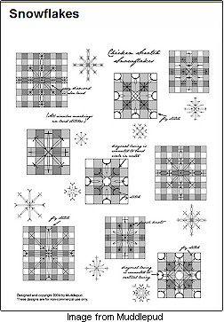Free Chicken Scratch Quilt Pattern | Free chickenscratch from Muddlepud · Needlework News | CraftGossip ...