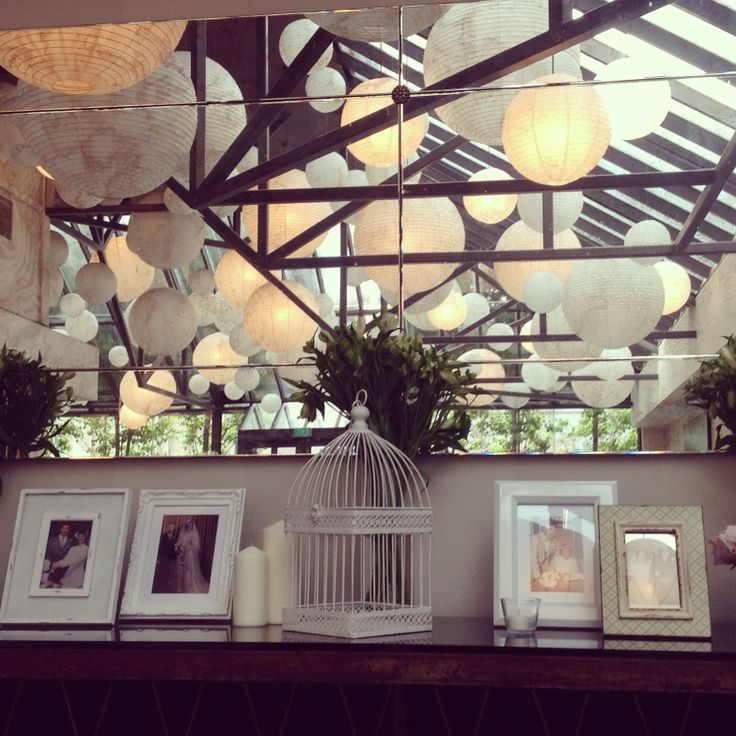 We love it when couples personalise the gifts table with photographs of parents and grandparents on their wedding days!