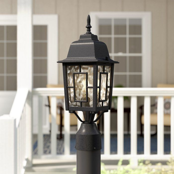 Harriet Outdoor 1 Light Lantern Head Lantern Head Lantern Lights Lamp Post Lights