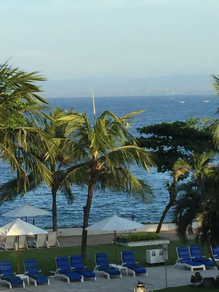 Beautiful morning view at Discovery Kartika Plaza Hotel
