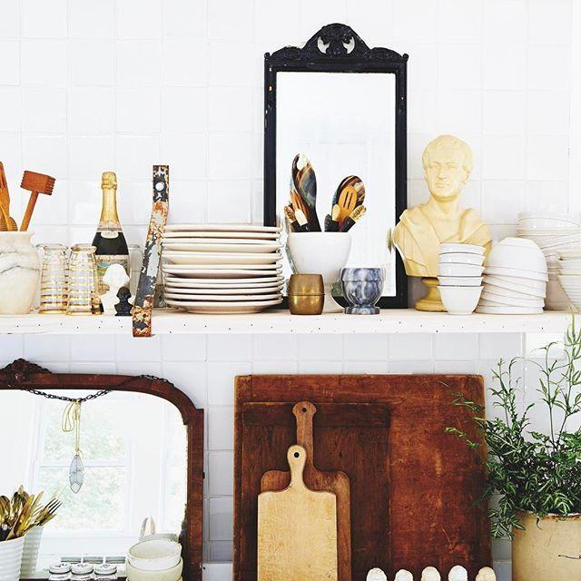 Spiegel in der Küche