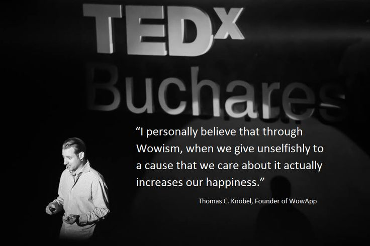 TEDx Bucharest, The new #SharingEconomy, Thomas C. Knobel, WowApp Founder