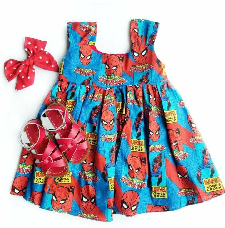 Excited to share the latest addition to my #etsy shop: Spiderman toddler dress, girly superhero dress, Spiderman girl dress, Spiderman baby dress, girl superhero dress, halloween spiderman dress http://etsy.me/2DfCmIB