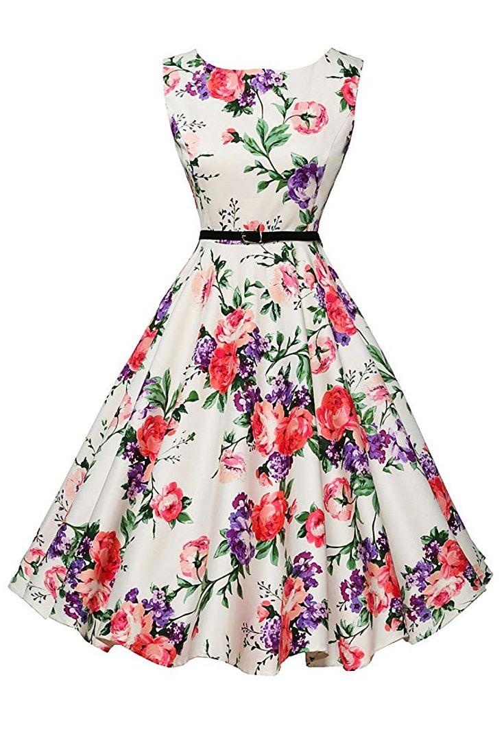 Boatneck Sleeveless Vintage Tea Dress Vintage Dresses For Teens Vintage Tea Dress 1920s Vintage Dresses [ 1102 x 735 Pixel ]