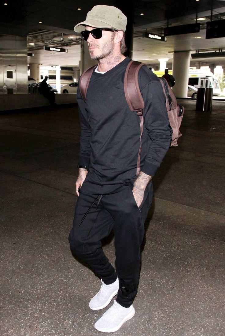 David Beckham airport style.