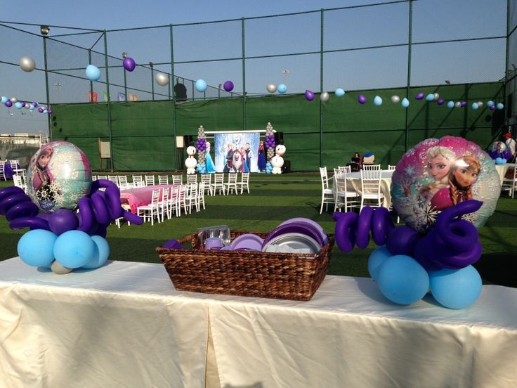 1000 images about frozen birthday party outdoor on for Outdoor decorating ideas for birthday party
