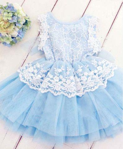 Linnea Flower Lace Dress - Loved by Chloe