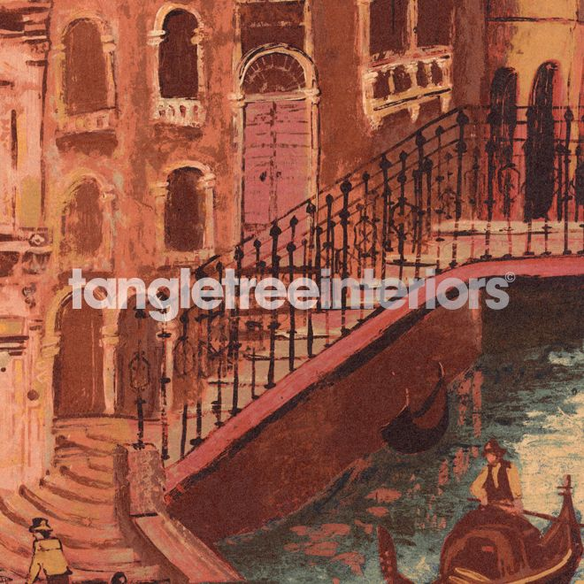 The Gondolier wallpaper from Zoffany - 311262 - Sunset