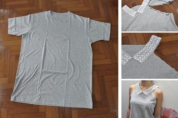 26 Brilliant Ways To Repurpose Those Ratty Old T-Shirts