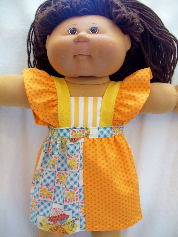 119 Best Cabbage Patch Clothes Images On Pinterest Baby Doll
