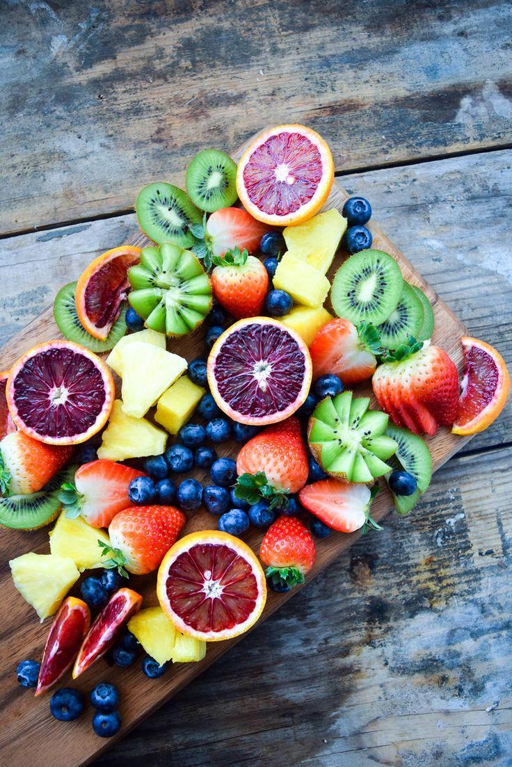 fruit plate.