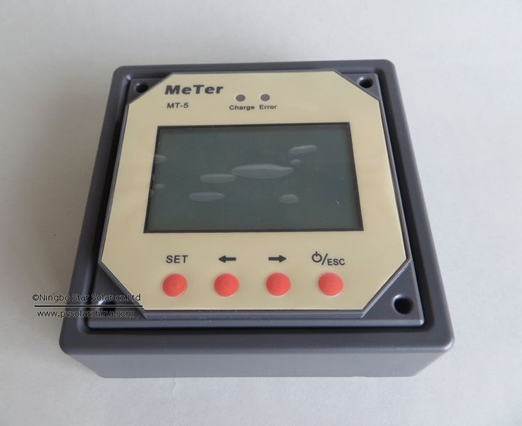 Цифровой дисплейОтображает напряжение, ток,ампер-час, ватт-час и процентзаряда аккумулятораПодходит как для 12 и 24 В системОтображение температурыПростота использования и установкиУдаленный цифровой дисплей для солнечных контроллеров заряда. Идеально подходит для мониторинга и отображения текущего статуса солнечной системы. Отражает на дисплее напряжение солнечных батарей и напряжение аккумулятора, а также зарядный ток и ток нагрузки. Показывает ампер-час и ватт-час накопленного заряда, а…