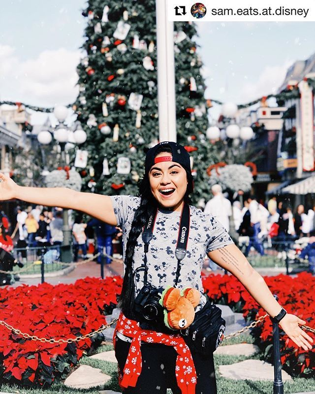 Repost from our friend @sam.eats.at.disney just living her best life this past Christmas Day at ...
