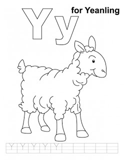 Letter Yy printable coloring pages | Kids coloring pages ...