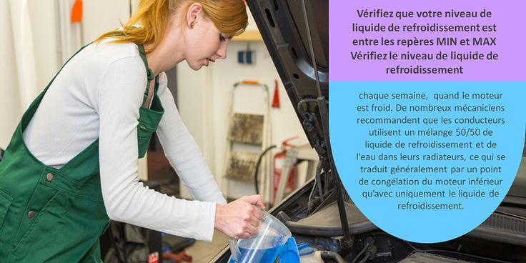Le liquide de refroidissement, également connu comme l'antigel, est extrêmement important pour votre voiture, car il évite que le moteur gèle par des températures froides. Avant l'hiver, assurez-vous que votre voiture ne manque pas de liquide de refroidissement et qu'il n'y a pas de fuites dans le moteur de votre véhicule. #pneusete