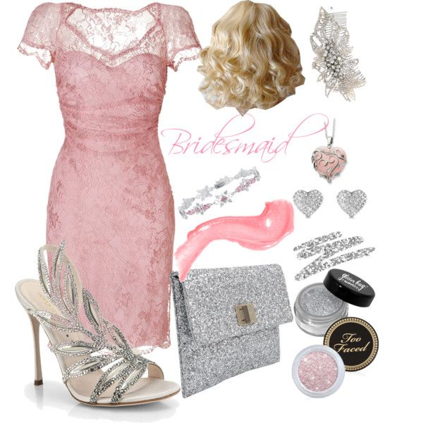 """Bridesmaid"" by timi-v on Polyvore"