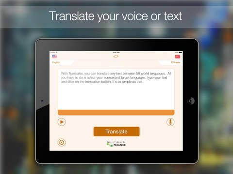 SAVE $9.99: Translator HD : Translate from English to around sixty world languages (with speech recognition and text-to-speech) gone Free in the Apple App Store. #iOS #iPhone #iPad  #Mac #Apple