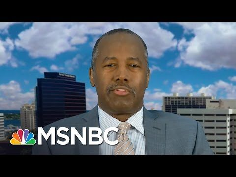 Ben Carson: 'It Doesn't Matter' If Donald Trump Sexual Assault Accusers Lie | Morning Joe | MSNBC - YouTube