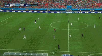 Robin Van Persie!! Awesome Goal
