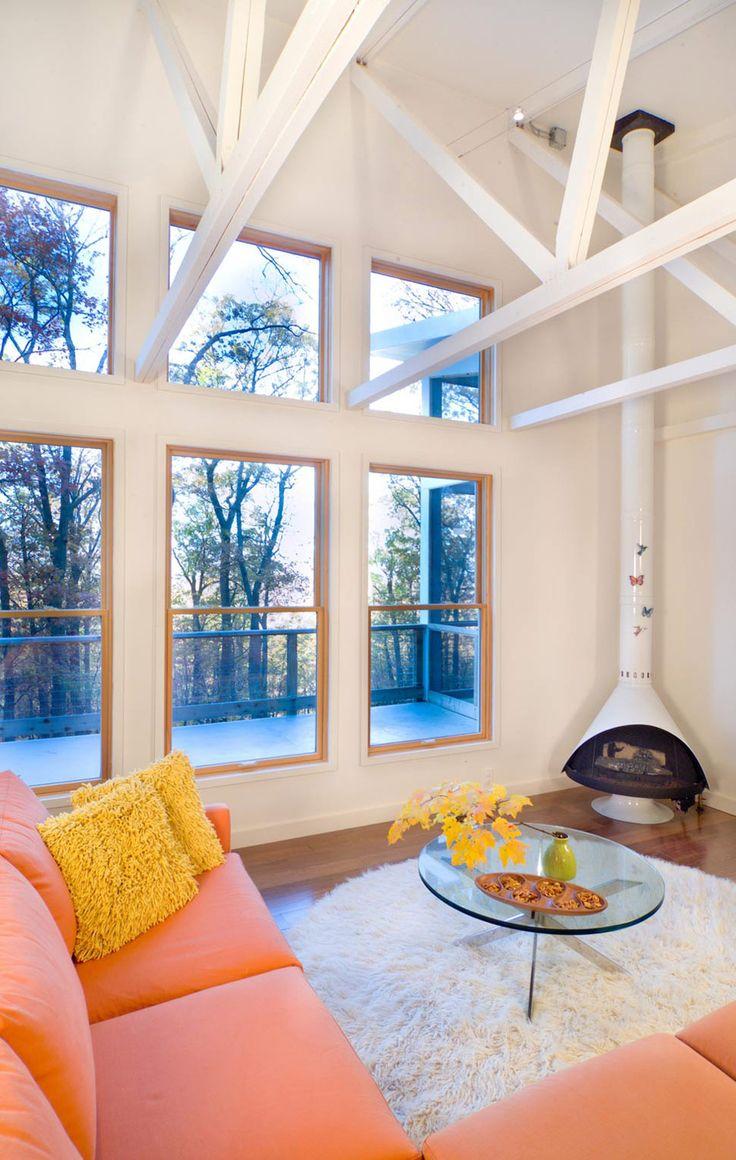 Year Round Cabin Retreat By Reader Swartz Architects
