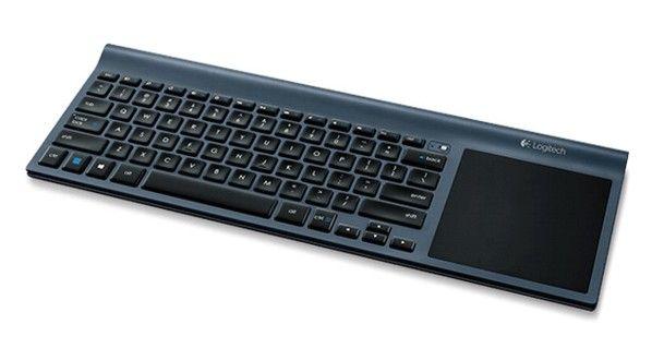 Logitech TK820 es un nuevo teclado inalámbrico que incorpora un trackpad multitáctil para interactuar mediante gestos con Windows 8.