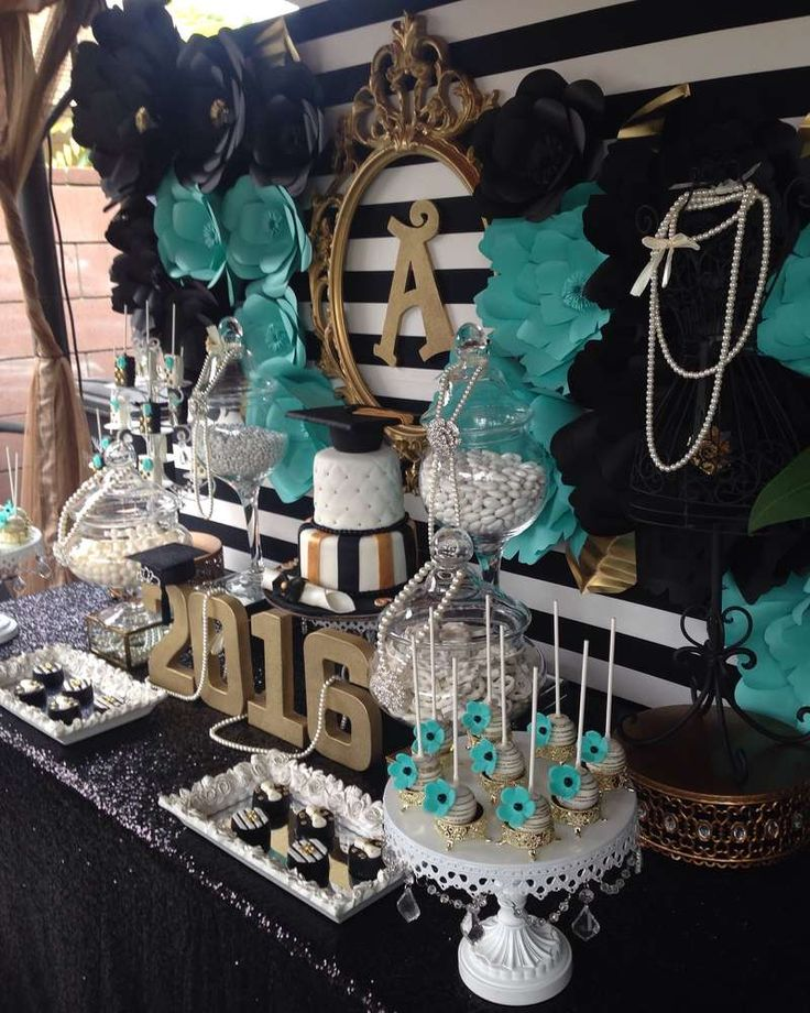 Best 25 graduation party centerpieces ideas on pinterest for 18th birthday party decoration ideas