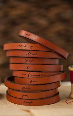 adjustable leather bracelets                                                                                                                                                     More