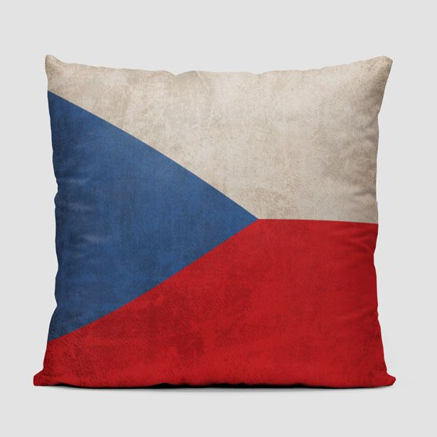 Czech Republic Flag - Throw Pillow