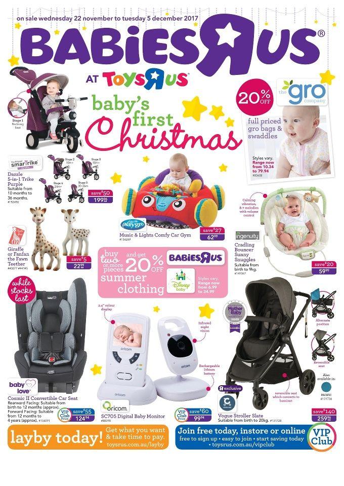 Babies R Us Catalogue 22 November - 5 December 2017 - http://olcatalogue.com/brus/babies-r-us-catalogue.html