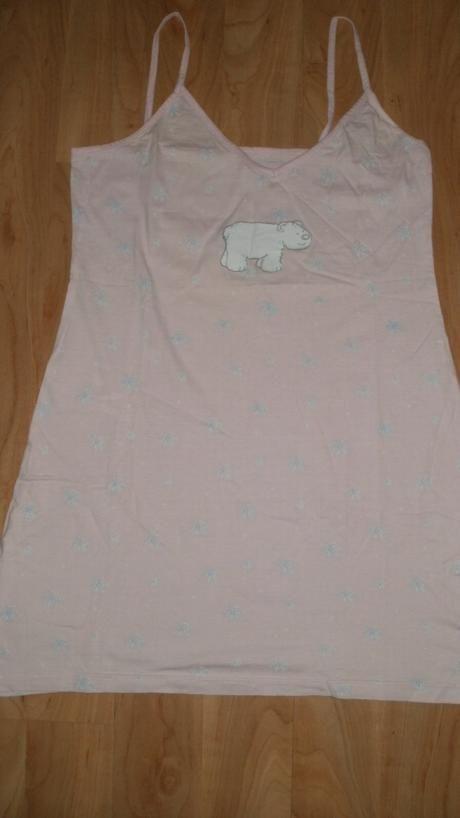 Bledoružová nočná košeľa, M