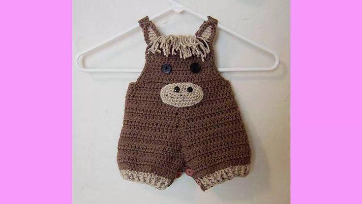 Body para bebe tejidos a crochet